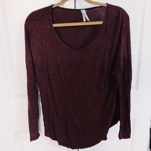 Tops - Long Sleeve Plum Sweater (Cozy!)